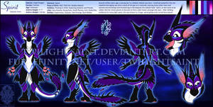 Personal - Spirit the Angel Dragon Reference Sheet by TwilightSaint