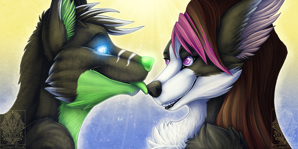 Icon Comish - Light of Love by TwilightSaint