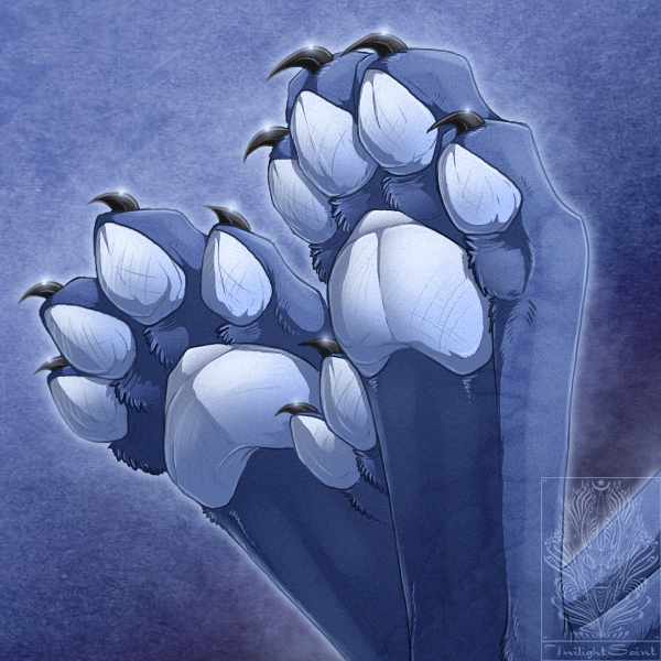 Paw Comish - Chimera Claws by TwilightSaint