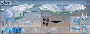 Ref Sheet Comish - Azure
