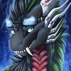 Icon Comish - Scaly Toxicity by TwilightSaint