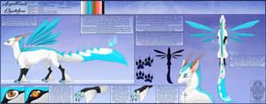 Ref Sheet Comish - Angel