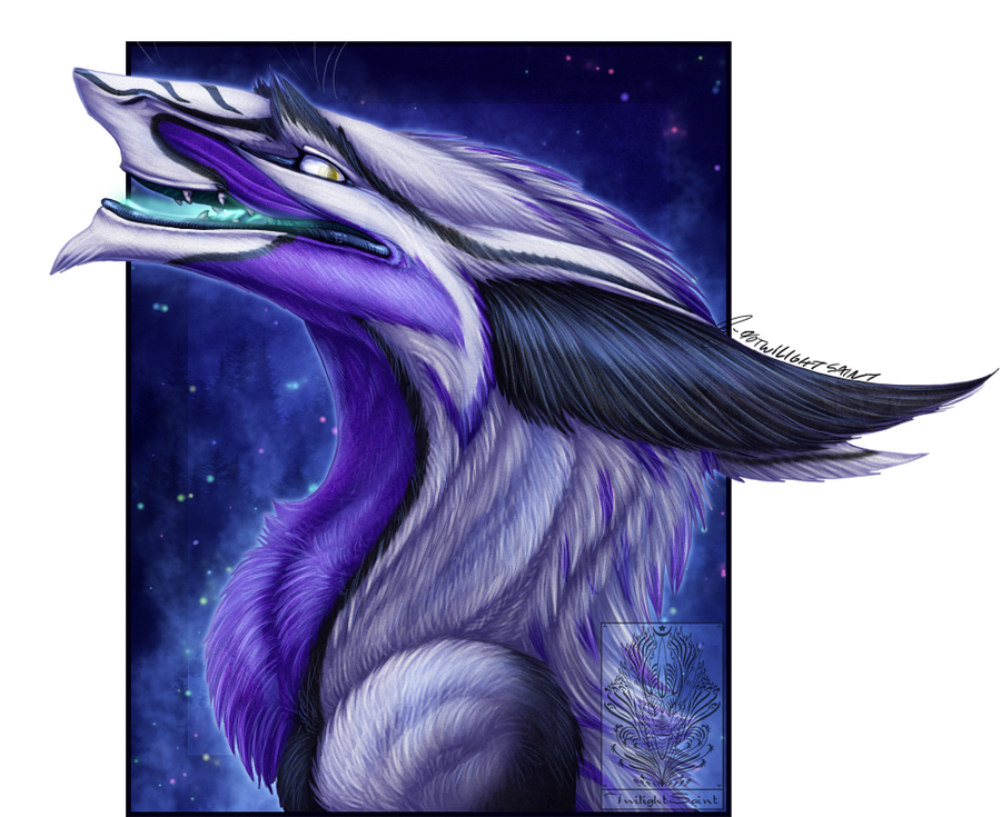 Bust Comish - Starry Breath by TwilightSaint