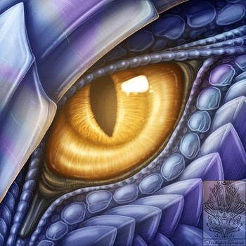 Eye-Con Comish - Inner Fire by TwilightSaint