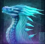 Bust Comish - Aurora Whisper