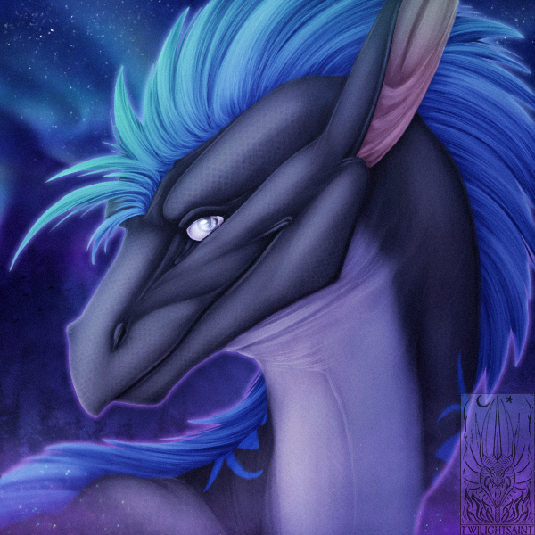 Icon Comish - Night in His Eyes by TwilightSaint