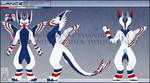 Personal - Lance Reference Sheet by TwilightSaint