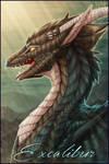 Badge Comish - Excalibur