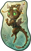 Badge Comish - Aether by TwilightSaint