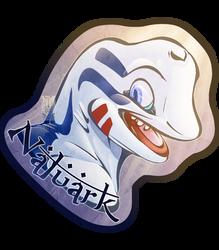 Personal - Naluark's Toony Badge by TwilightSaint