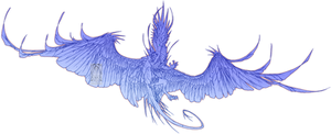 Sketch Comish - Holy Descent
