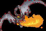 Colored Sketch Comish - Blazin' Scales