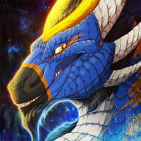 Icon Comish - Azure Grin