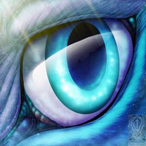 Eyecon Comish - Azure Gaze