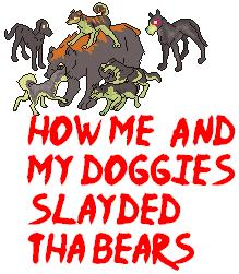 How me and my doggies.... by EdwardIV