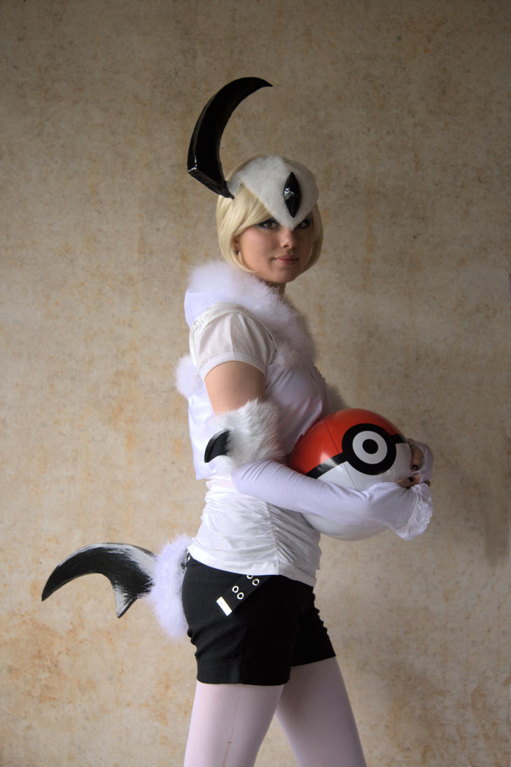 Absol cosplay 1 by LadyOddly on DeviantArt