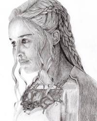 Khaleesi by GregBHargreaves