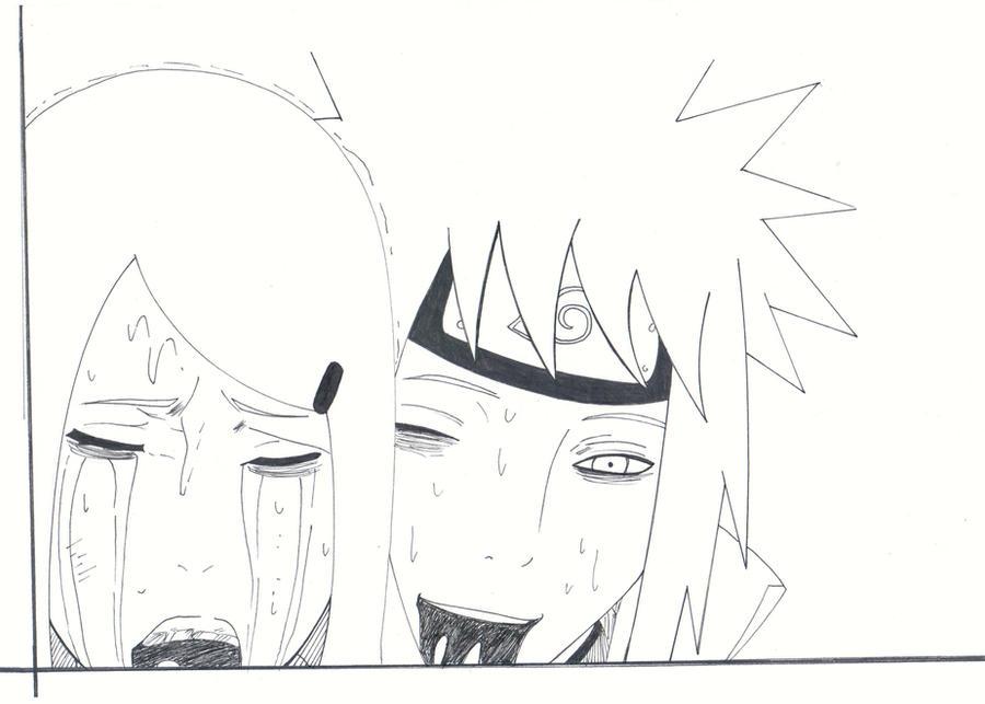 Minato And Kushina Drawing,