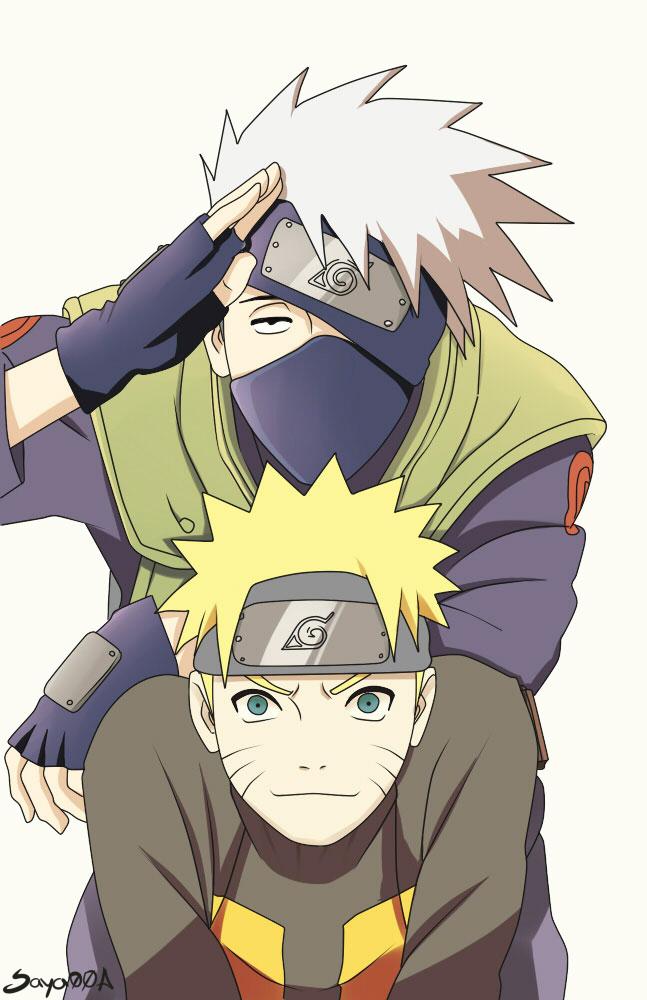 Naruto et kakashi porn