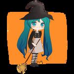 Witch Miku by Saya00A