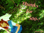 Thanks for 500+ page views