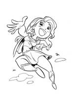 Manga Supergirl by tombancroft