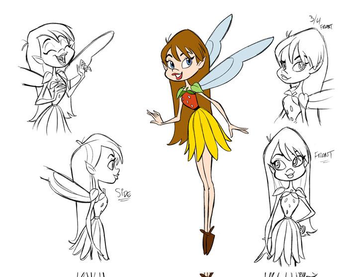 Tom Bancroft Character Design Book : Fairy character design model by tombancroft on deviantart