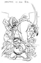 Opp. Forces 4 cover pencils