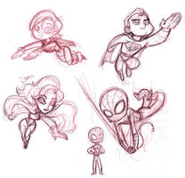 Coming Soon Sketches by tombancroft