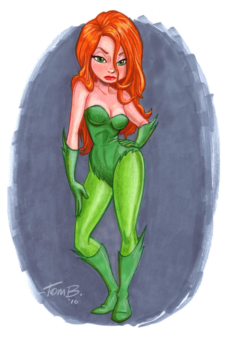 Poison Ivy_ Final color by tombancroft