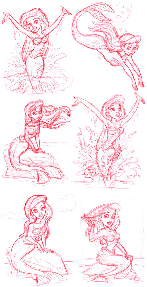 Little Mermaid_concepts by tombancroft