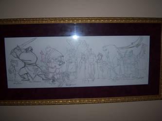 On the walls_ULTIMATE Mulan by tombancroft