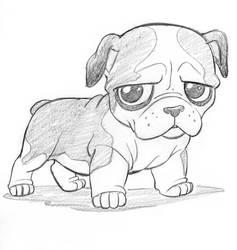 Cutsey Bulldog by tombancroft