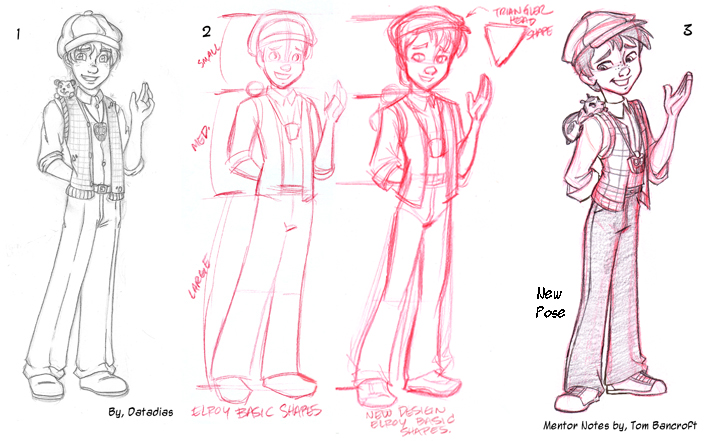 Tom Bancroft Character Design Book : Character mentor pasqualinav by tombancroft on deviantart