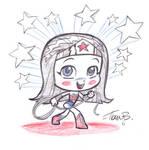 Sketch-a-day 1_WWoman_chibi_