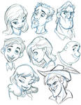 More Character heads