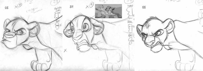 Lion King Week, Day 2: Simba by tombancroft