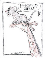 Lion King Week, Day 4: Simba by tombancroft