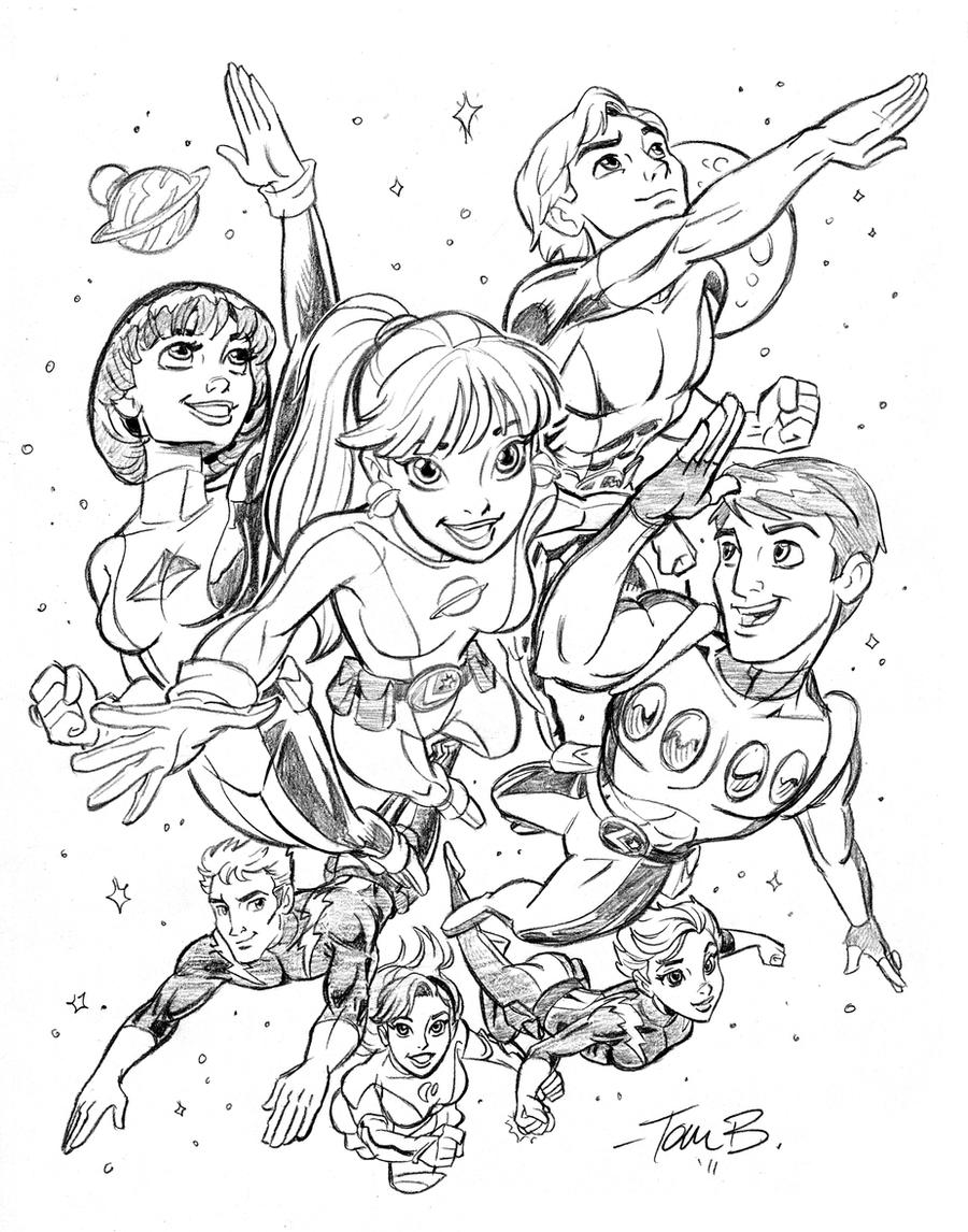 Legionaires-to Ink or COLOR by tombancroft