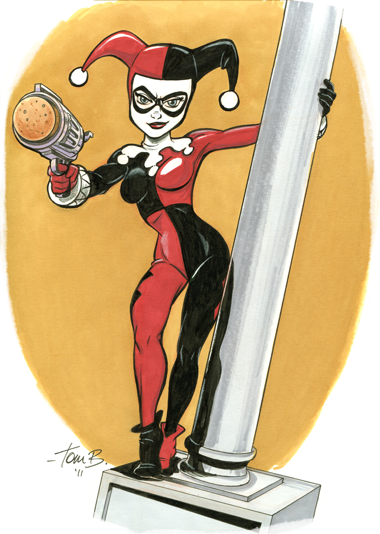 Harley, Pole dance_color by tombancroft