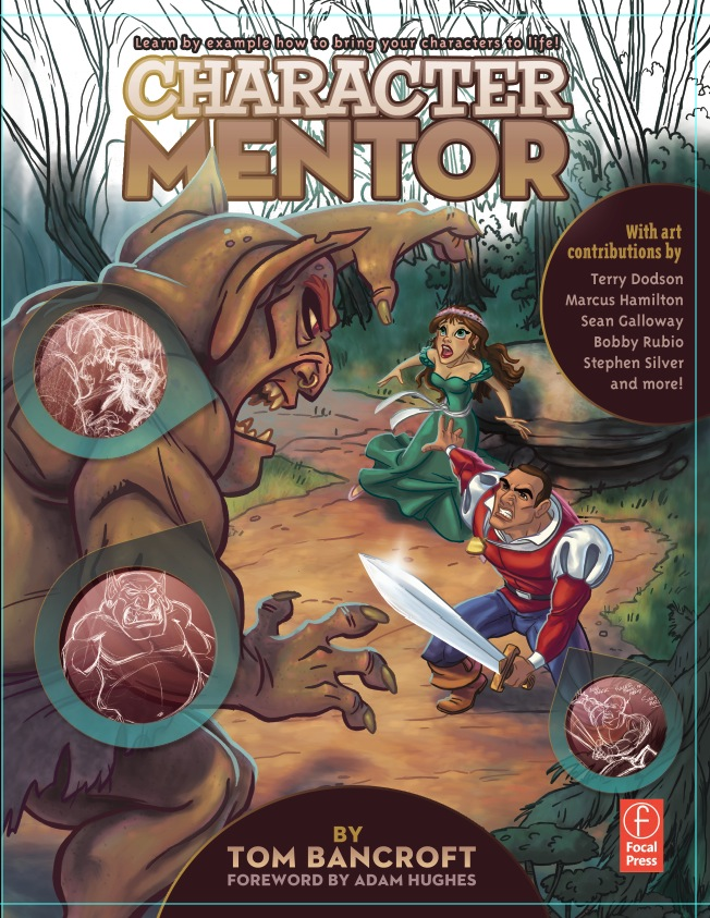 Tom Bancroft Character Design Book : Character mentor book cover by tombancroft on deviantart