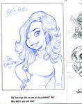 80s Dream Girl_sketchbook sketch