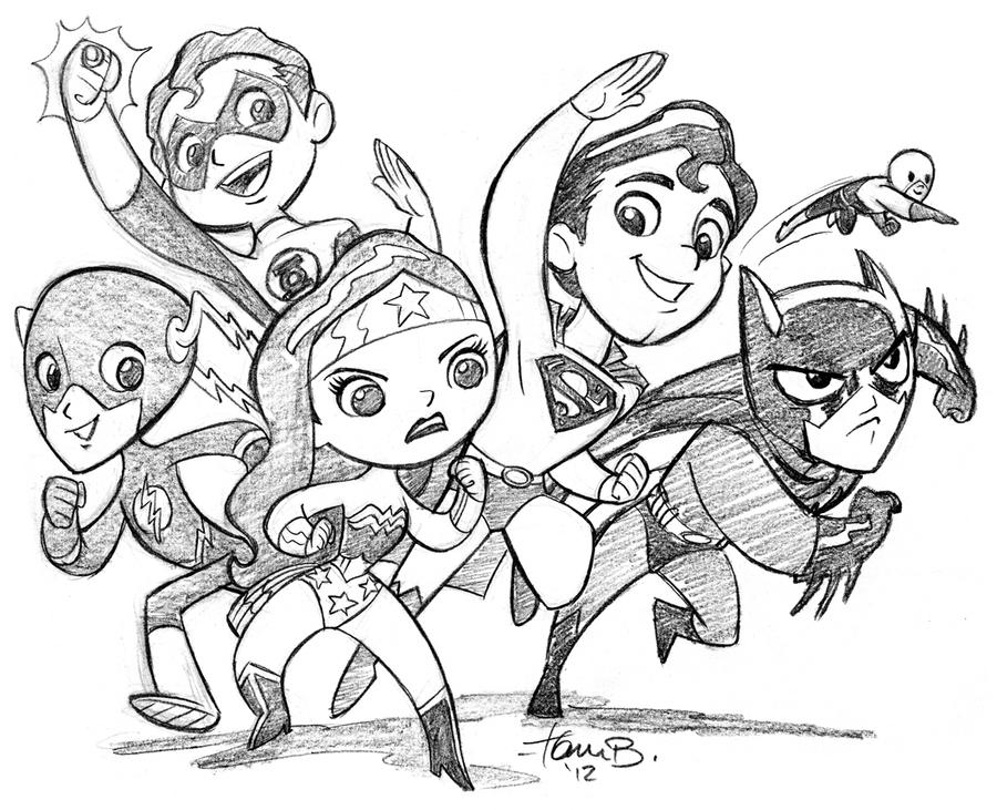 The Wonder Friends by tombancroft
