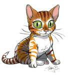 Kitten marker practice by tombancroft