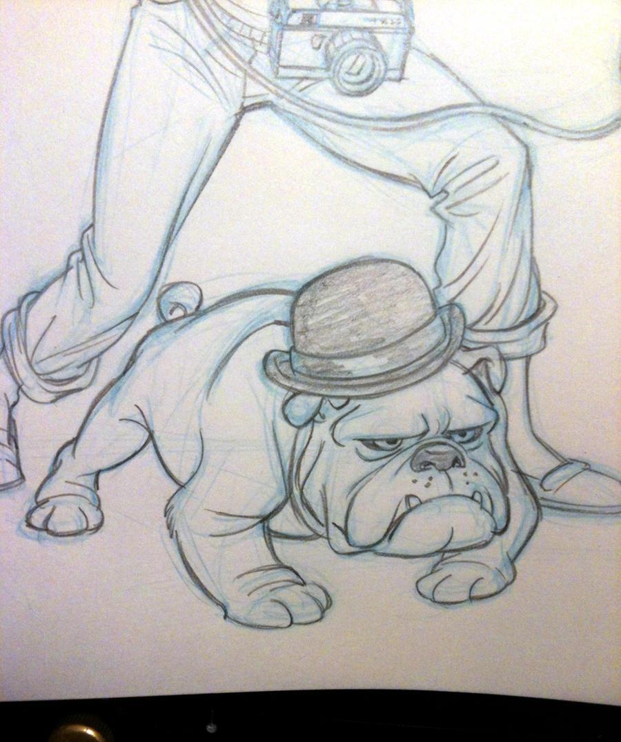 Bowler Bulldog by tombancroft