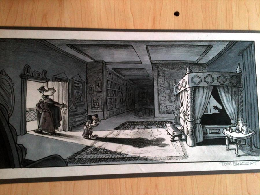 Disney Internship Artwork By Tombancroft