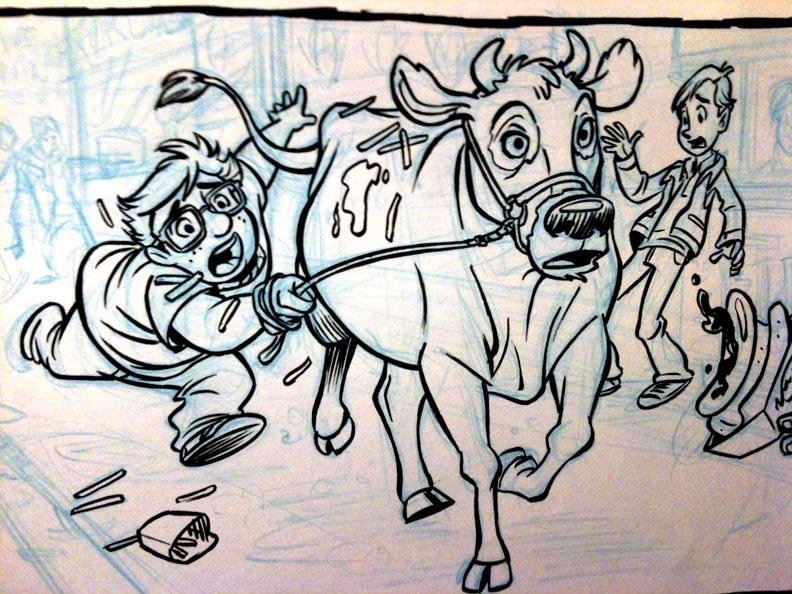 Cow run by tombancroft