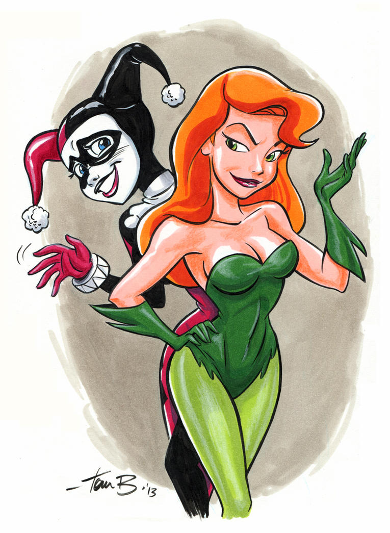 Harley and Ivy_ Wave by tombancroft