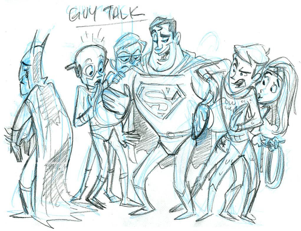 Guy Talk_rough by tombancroft