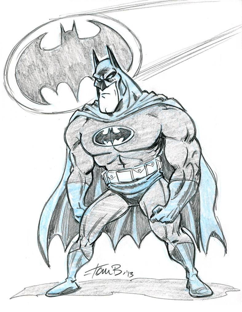Batman FCBD 2013 by tombancroft